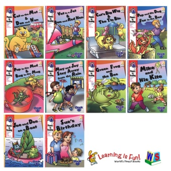 WS Phonics in Reading Series 1: Book 1 - 10 Price Philippines