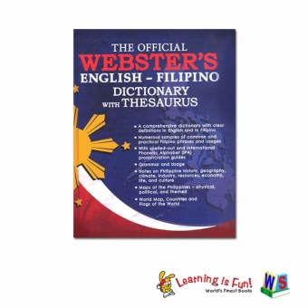 WS The Official Webster'S English-Filipino Dictionary WithThesaurus