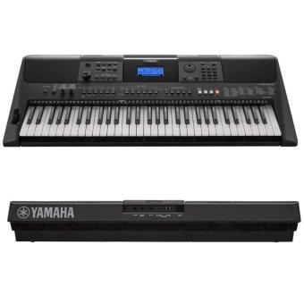 Yamaha PSR-E453 Keyboard with heavyduty double X keyboard standFREE Power AC Adaptor - 3
