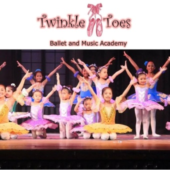 Twinkle Toes Ballet and Music Academy Php 1000 Cash Voucher