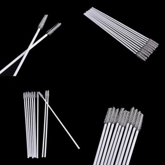 10pcs Stainless Steel Straw Reusable Washable Cleaner CleaningBrush - intl - 4