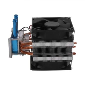 12V Thermoelectric Peltier Refrigeration DIY Water Cooling SystemCooler Device with Fan - intl