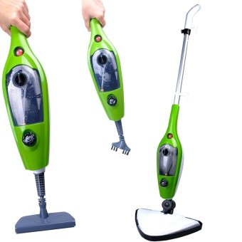 1500W 10 in 1 Multifunction Steam Mop Floor Steam Cleaner with 3Replacement Pads - intl