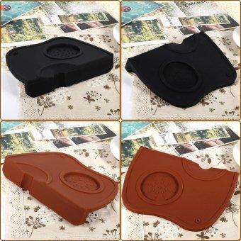 1pcs Anti-slip Espresso Coffee Tamper Tamping Holder Silicone MatPad (Coffee) - intl - 5