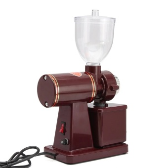 220V 100W Electric Auto Burr Mill Espresso Coffee Bean GrinderMaker - intl - 2 .