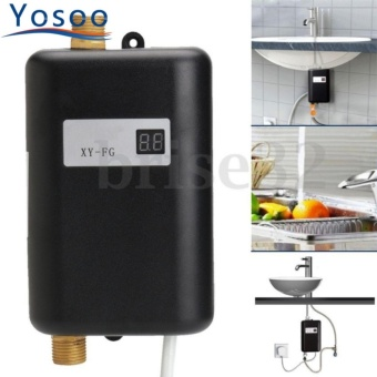 220V 3400W Mini Electric Instant Hot Water Heater Bathroom Kitchen Washing - intl