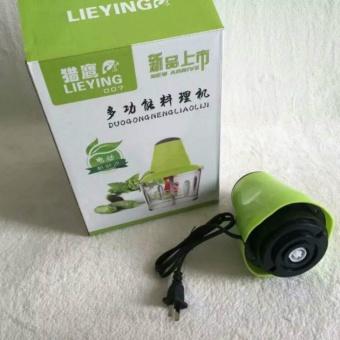 220V Electric Meat Grinder Food Processor Grinding Cutting Machine- intl - 4