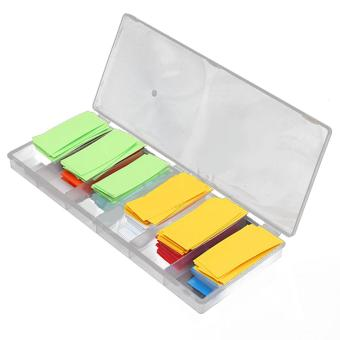 280 PCS 8 Color PVC Heat Shrink Tubing Tube Sleeve Wrap for 18650 18500 Battery - intl