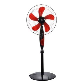 "3D Midnight Magic 16"" Stand Fan (Red)"