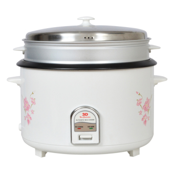 3D RC195 5.6L Rice Cooker (White) Price Philippines