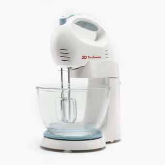 3D TSK-942GST Portable Stand Mixer with Glass Mixing Bowl