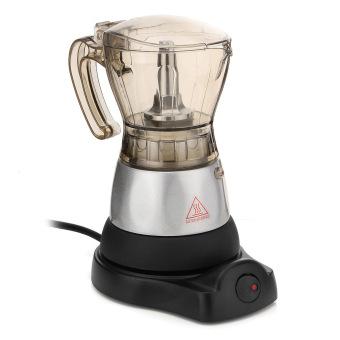 4 Cup Electric Espresso Coffee Maker Machine Percolator Moka Pot Stovetop Brewer - intl - 2