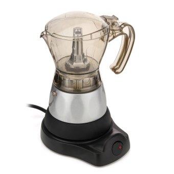 4 Cup Electric Espresso Coffee Maker Machine Percolator Moka Pot Stovetop Brewer - intl - 3