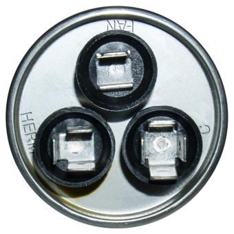 440VAC 25+5uF Dual Capacitor Terminal Air Conditioner - 2