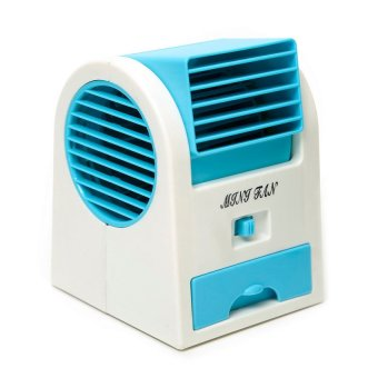 5188 Mini Air Conditioning Fan (Blue)