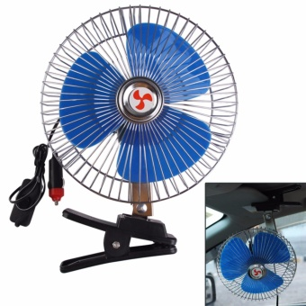 8 -inch High QualityPortable 12-volt Vehicle Auto Car Cooling Fan #0123
