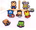 8 Pcs Silicone Cartoon Cute Heroes Fridge Refrigerator Magnet Set