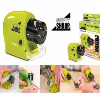 ACB Swifty Sharp Kitchen Motorized Knife Sharpener (Green)