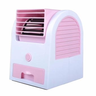 Air Conditioning Mini Fan Air Cooler - Pink