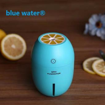 Air Humidifier With LED Lights Mini Lemon Shape USB Portable With Free Aroma Scent Oil