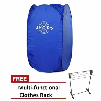 Air O Dry Portable Clothes Dryer (Blue) with Free Multi-functionalClothes Rack Price Philippines