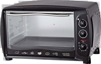 American Heritage AHOT-6099 43L Electric Oven w Rotisserie (Black) Price Philippines