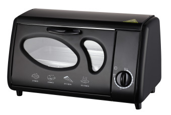 American Heritage AHOT-6179 8L Oven Toaster (Black)