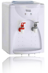 american heritage ahwd6163 hot u0026 normal water dispenser white