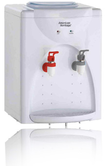 American Heritage AHWD-6163 Hot & Normal Water Dispenser (White)