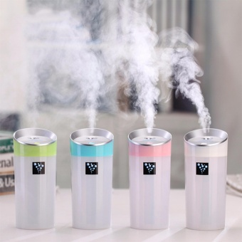 Anion Cup Oil Aroma Diffuser humidifier mini USB car Air Purifiers(Blue) Price Philippines