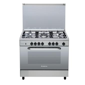 Ariston CN5SG1X EX 5 Gas Burners with Gas Oven and Grill
