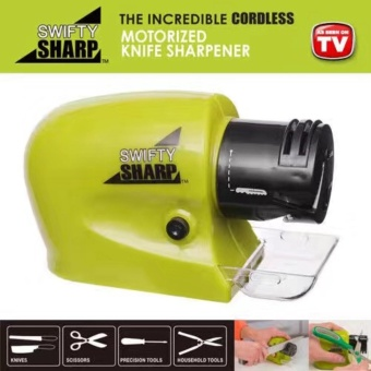 As Seen On TV Swifty Sharp Kitchen Motorized Knife Sharpener - 2