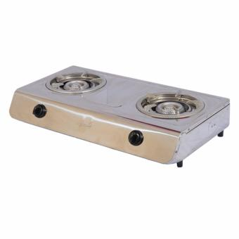 Asahi GS-117 Double Burner Gas Stove (Silver) Price Philippines