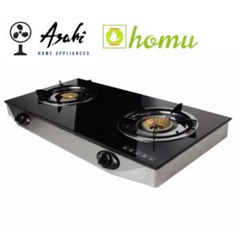 Review Asahi Gs 887 Lpg Auto Burner Tempered Glass Gas Stove 2 In Philippines Ephvaline