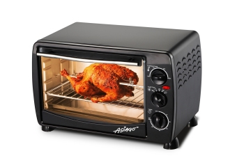 ASIAGO Oven Toaster 18L with Rotisserie & Lamp (Black) Price Philippines