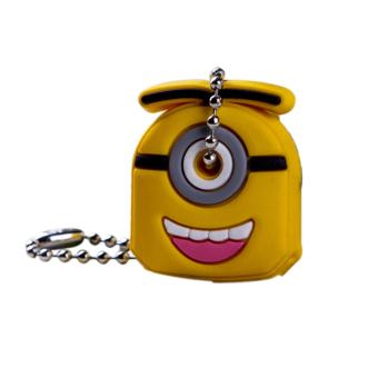 Aukey Animal Silicone Keys Keychain (Yellow)