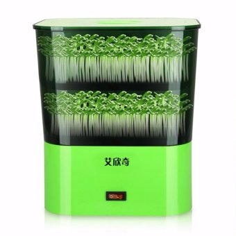 Automatic One-key Household Intelligent Bean Sprouts Maker GrowingMachine BSMG-A (Green) - intl