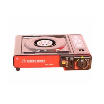 BDZ-155-A Portable Gas Stove (Black and Red) with 2x Casette GasAnd Plus FREE 1xRefillable Butane Gas Lighter - 2