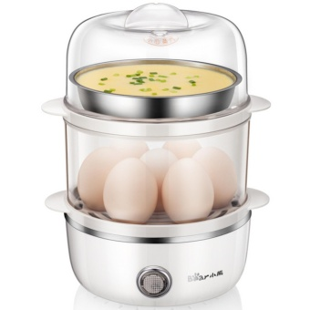 Bear ZDQ-A14B3 double-layer multifunctional steamer (White) - intl Price Philippines