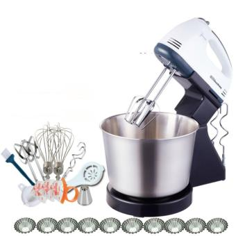 BEST Kitchen Food Blender Hand Stand Mixer Machine JGDTOE Grinder Blender Whisk Egg Beater - intl