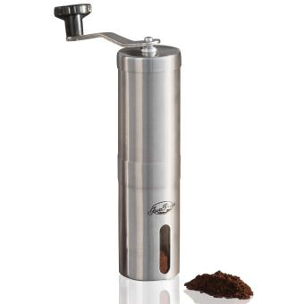Blackhorse JavaPresse Manual Coffee Grinder | Conical Burr Mill forPrecision Brewing | Brushed Stainless Steel - intl