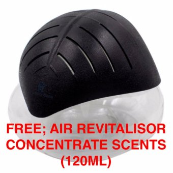 BM Air Purifier with LED Light H2O Air Revitalizer w/ free scentBlack