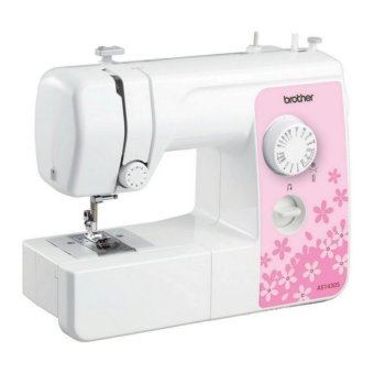 Brother AS1430S Expert Portable Free Arm Sewing Machine (White)