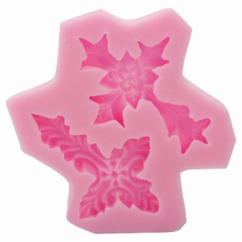 BUYINCOINS Cross Shape Silicone Fondant Mould DIY (Pink) - picture 2