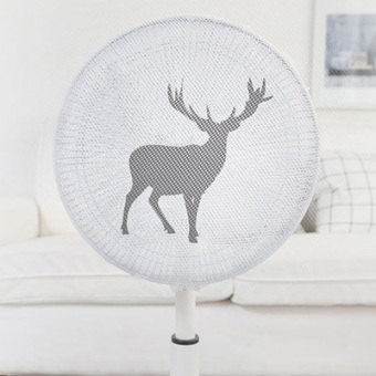 Cartoon infants children anti-electric fan cover protective net