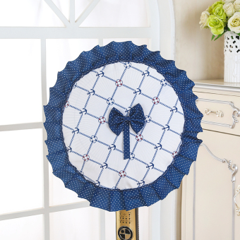 Cloth round fan cover electric fan cover