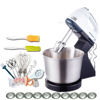 CNXFK-4KO39 Hand Stand Mixer Machine Kitchen SDADGHU-I32389 Food Blender Grinder Blender Whisk Egg Beater - intl