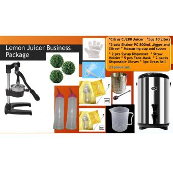 Commercial Citrus Lemon Manual Juicer Business Package Price Philippines