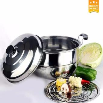 D&D Stainless Steel Steamer Cookware Multi-functional Single