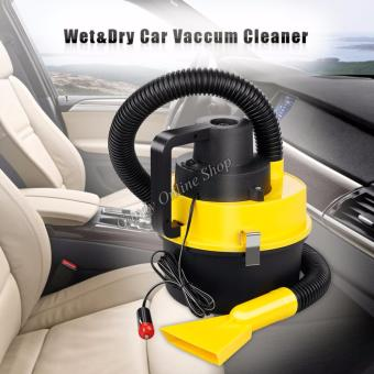 DC12V Monlove Wet and Dry Portable Car Vacuum Cleaner (Yellow)